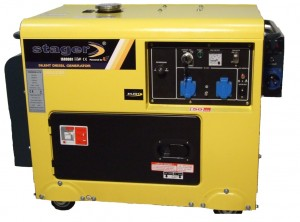 Generator-curent-Stager-DG-5500S+ATS