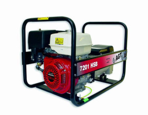 generator curent honda7201hsb