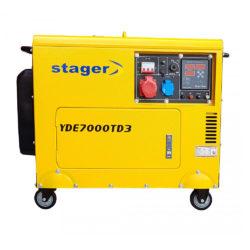 Generator curent Stager YDE7000TD3 insonorizat diesel monofazat (4,5 kW)