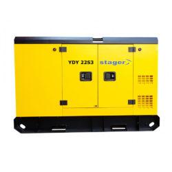 Generator curent Stager YDY22S3 insonorizat diesel trifazat (17.6 kW)