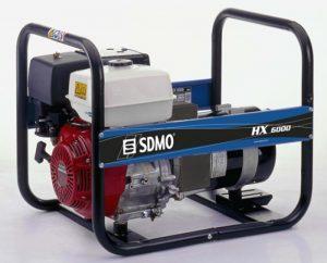 Generator de curent monofazat SDMO HX6000S